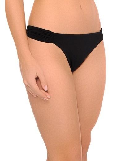 Reflections Mix Match Kelebek Modelli Düz Bikini Alt Siyah